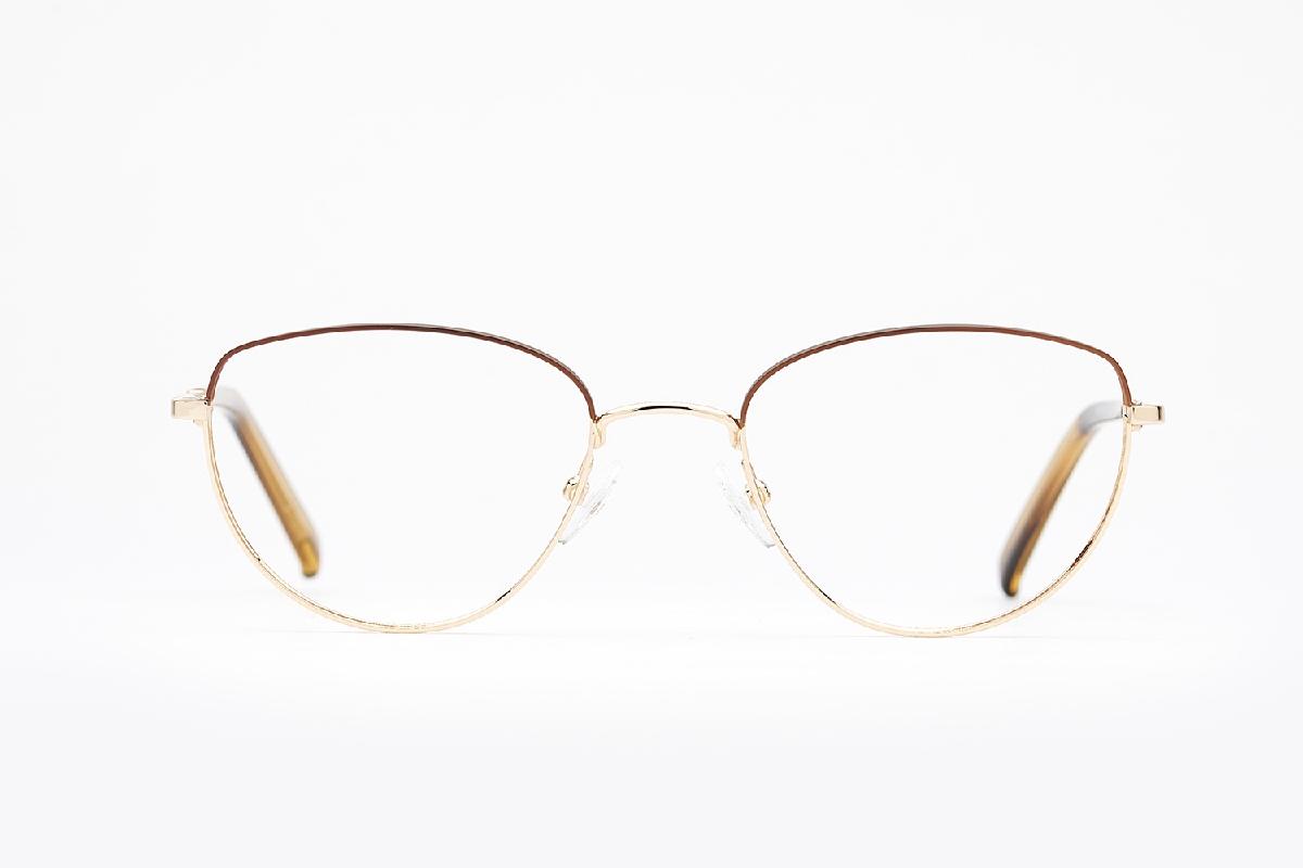 M&S Opticians S190110, colour:Gold