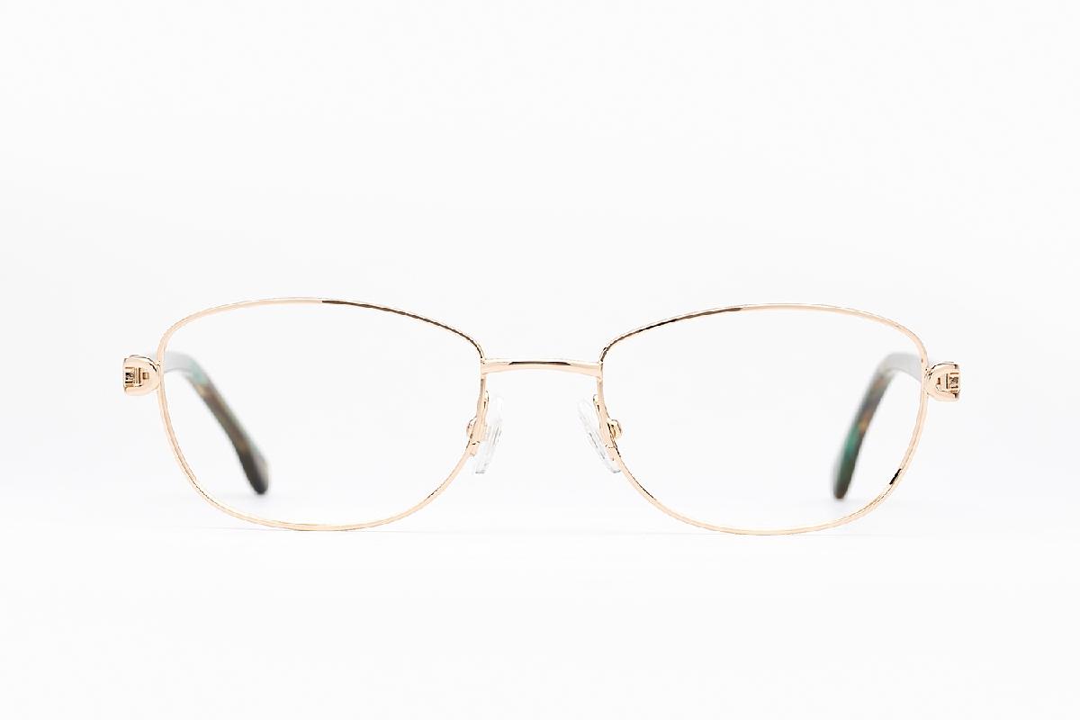 M&S Opticians S190111, colour:Gold