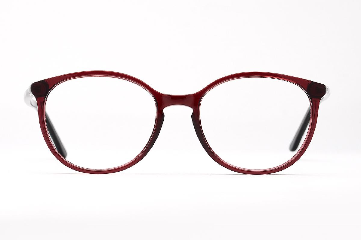 M&S Opticians S190128, colour:Red