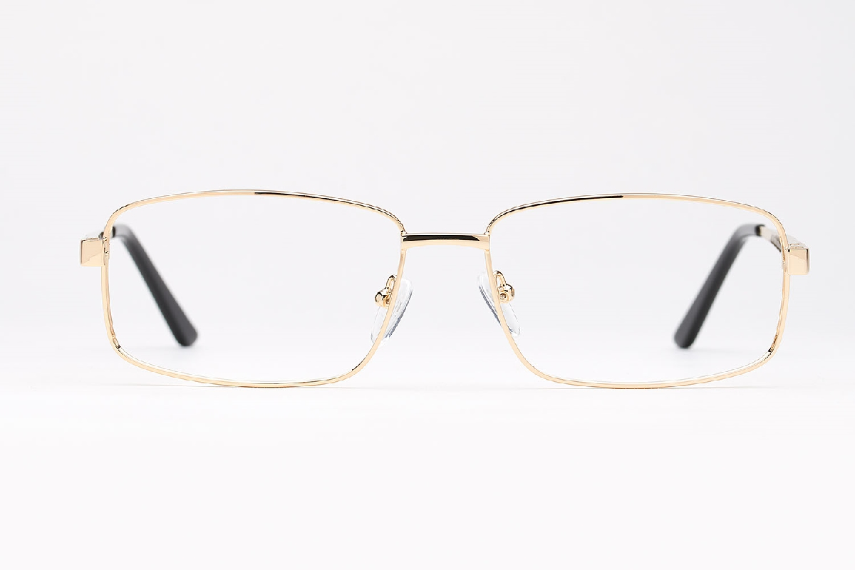 M&S Opticians S190250, colour:Gold