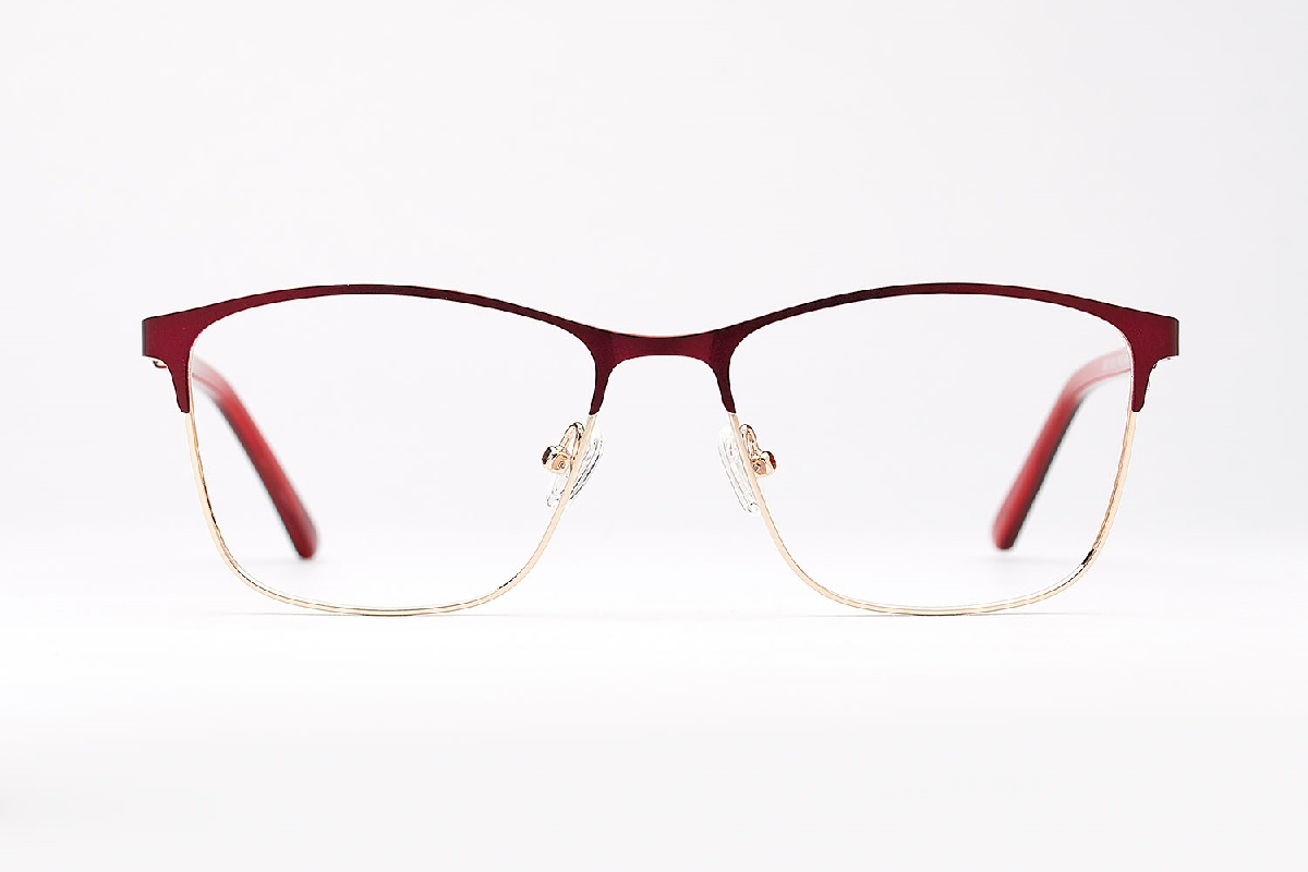 M&S Opticians S190211, colour:Red