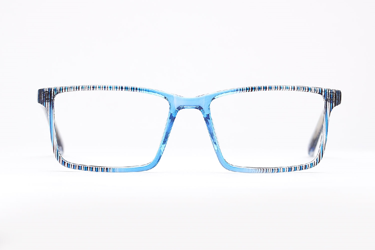 M&S Opticians S190181, colour:Blue