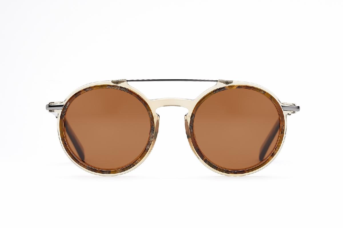 M&S Opticians S190243, colour:Brown