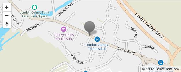 London Colney Map